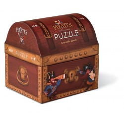Box Puzzle House 48pcs. Treasure Chest