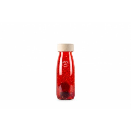 FLOAT BOTTLE RED