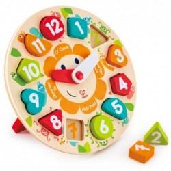 PUZZLE ENCAJABLE HORAS INGLES