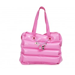 BOLSO HINCHABLE PINK WHAT A GIRL WHANTS CHARMS