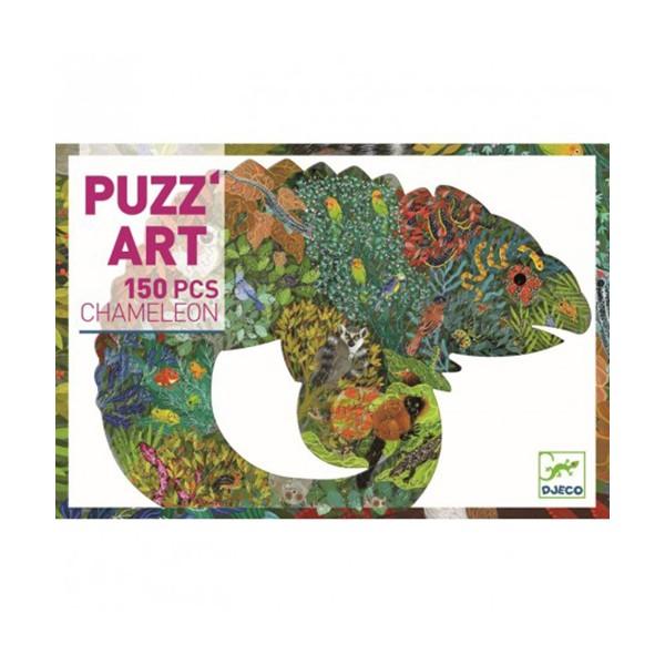 PUZZLE ART CAMALEÓN 150 PZAS 6-99 AÑOS.