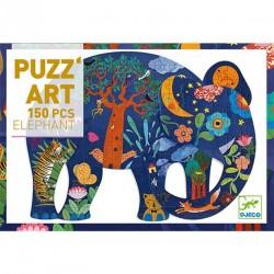 PUZZLE ART ELEFANTE 150 PZAS. 6-99 AÑOS