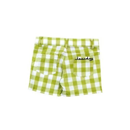 Pantalón cuadros verdes niño T.8 años